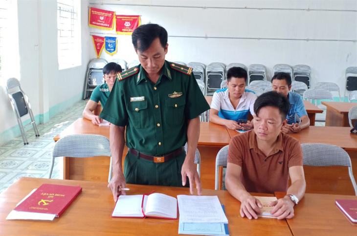 Xây dựng đội ngũ cán bộ BĐBP theo tư tưởng Chủ tịch Hồ Chí Minh